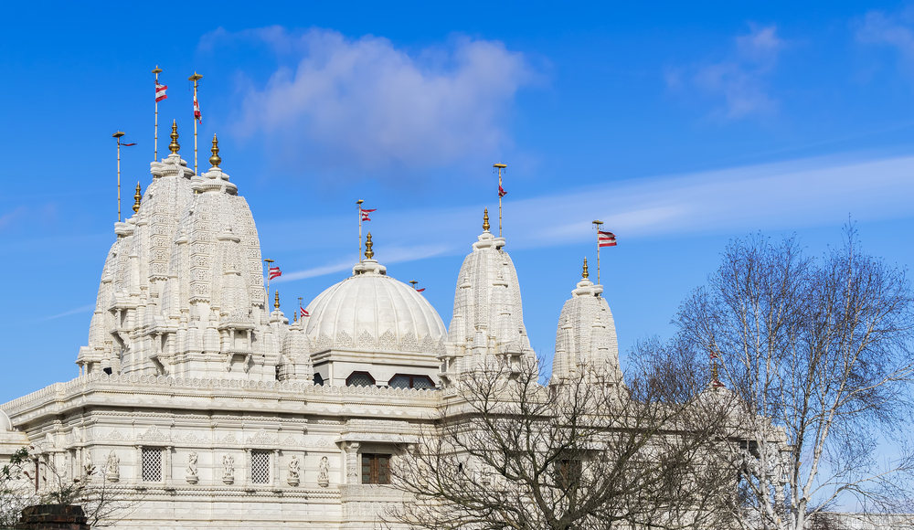 BAPS Shri Swaminarayan Mandir in London