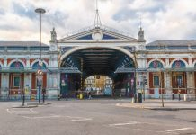 Smithfield Market in London