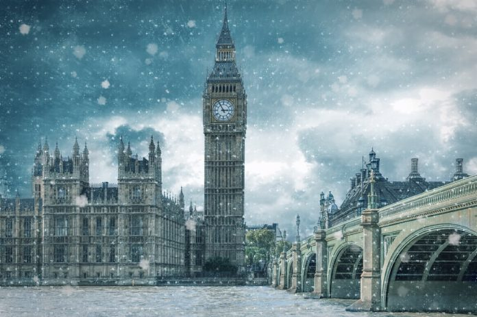 winter weather in london