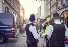 london cops and secutity